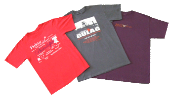 Custom designed teeshirt printing and embroidery